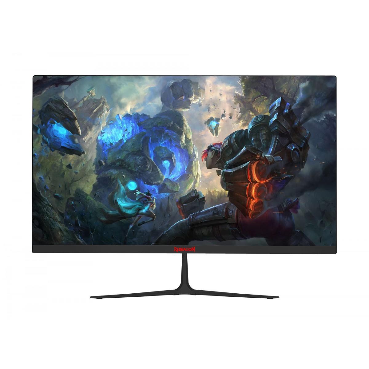 Monitor Gamer Redragon Ruby 24 Pol, Full HD, VA, 1ms, 144Hz, HDMI/DP, GM3CC238