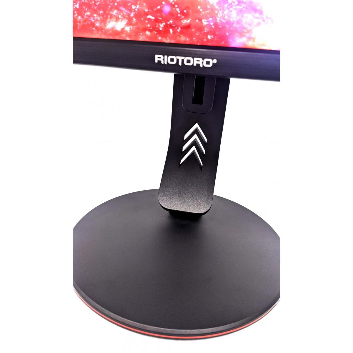 Monitor Gamer Riotoro, Stingray FX24, 24 Pol, FULL HD, HDR, FreeSync, 165Hz, 1ms, HDMI, DisplayPort, SR2385F