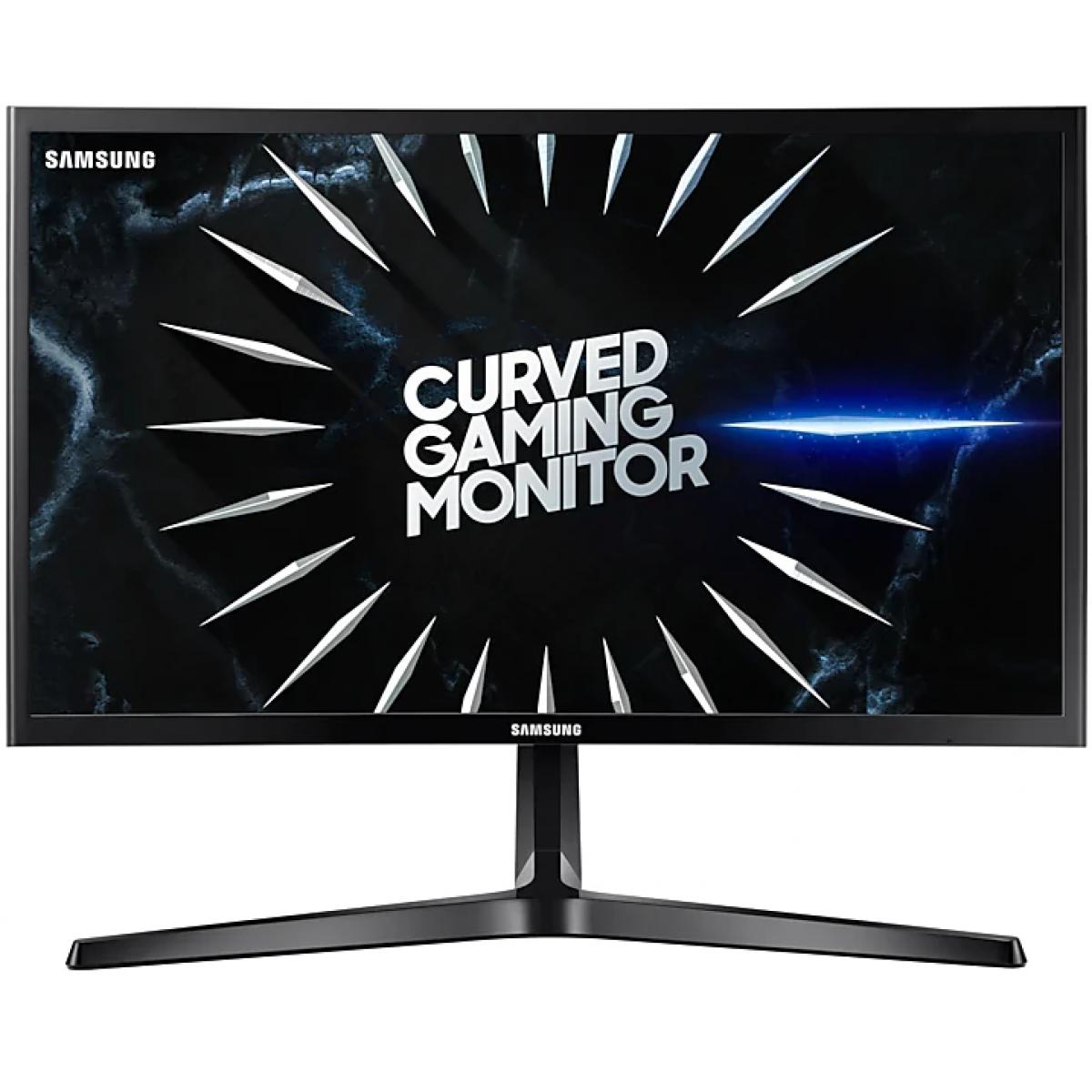 Monitor Gamer Samsung 24 Pol, Curvo, Full HD, 144hz, LC24RG50FQLMZD