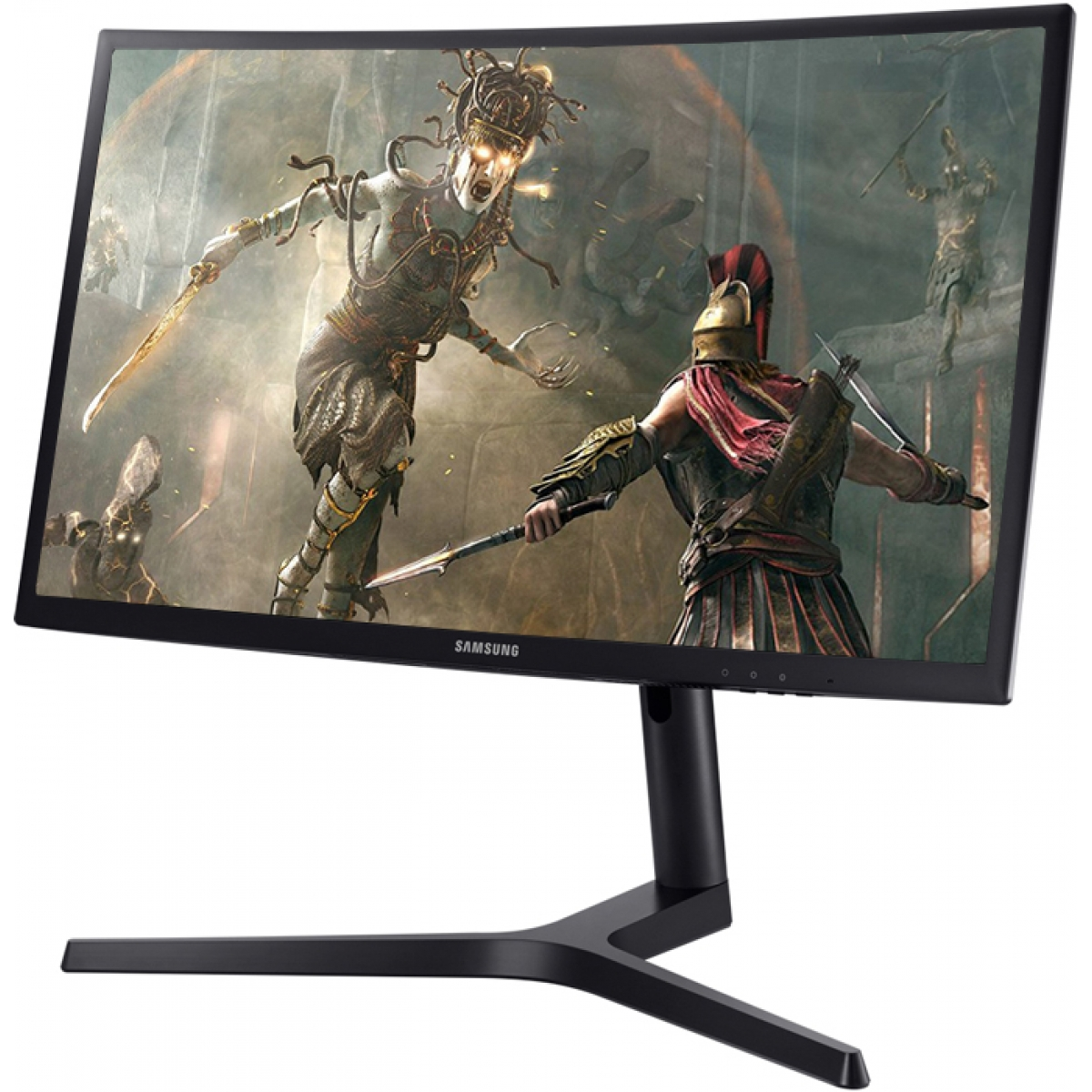 Monitor Gamer Samsung 27 Pol Curvo, Full HD, 144hz, 1ms, LC27FG73FQLXZD