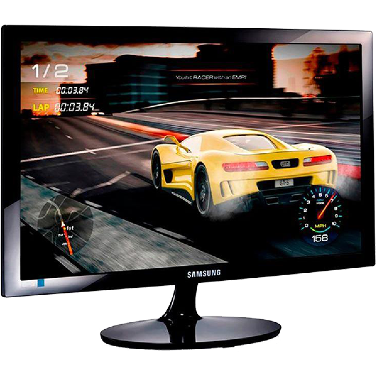 Monitor Gamer Samsung Led, 27 Pol, 1ms, Full-HD, HDMI, LS27E332HZXMZD