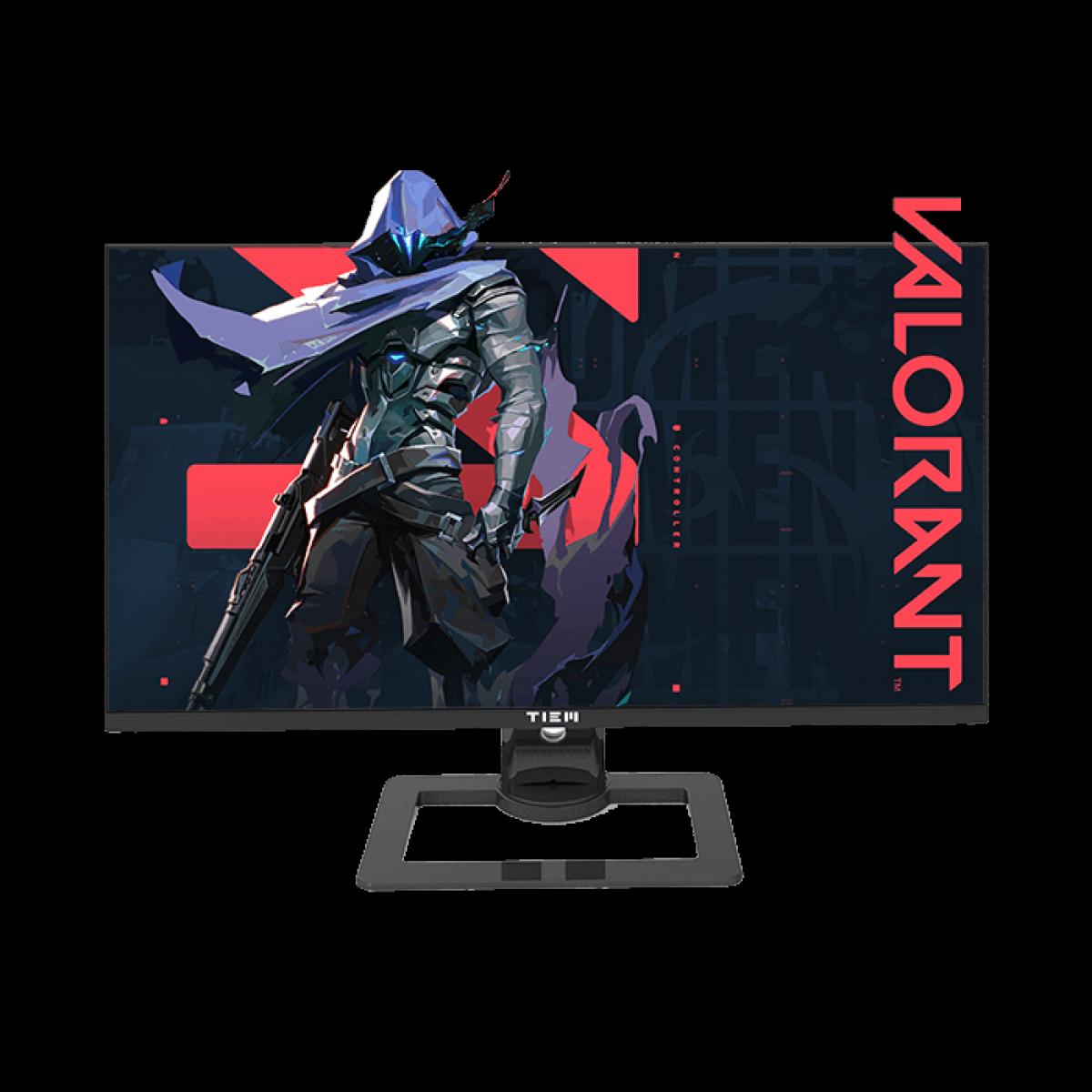 Monitor Gamer TIEM, 27 Pol, Full HD, 1Ms, 144Hz, HDMI/DP, 27P+