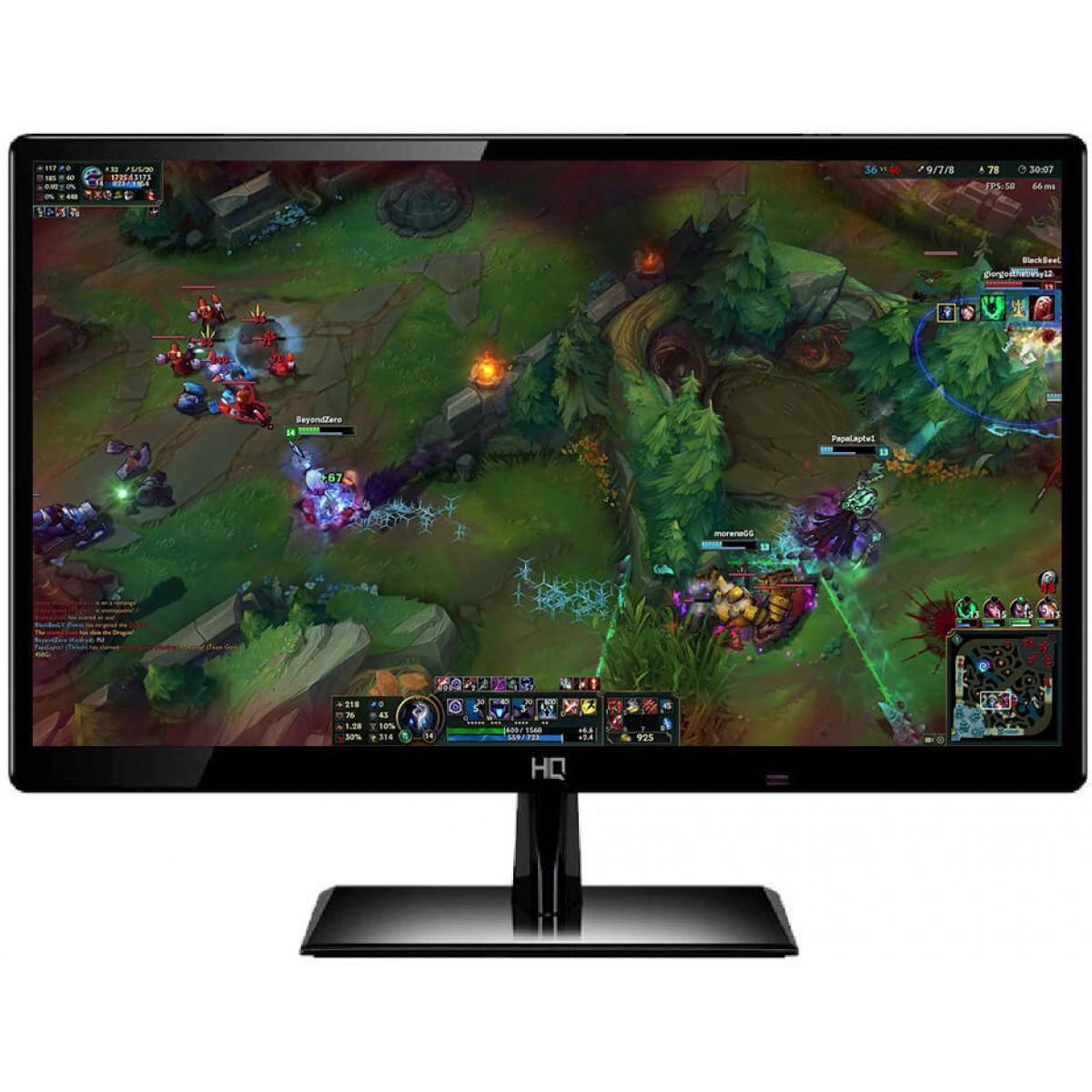 "Monitor HQ LED 19"" Widescreen 20HQ-LED C/HDMI IMP - Open Box"
