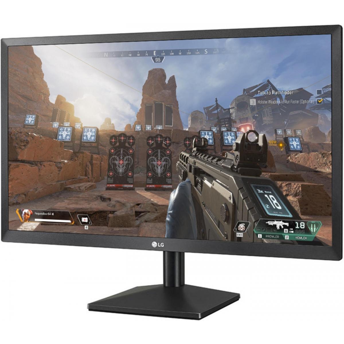 Monitor Gamer LG 21.5 Pol, Full HD, HDMI, AMD FreeSync, 22MK400H-B