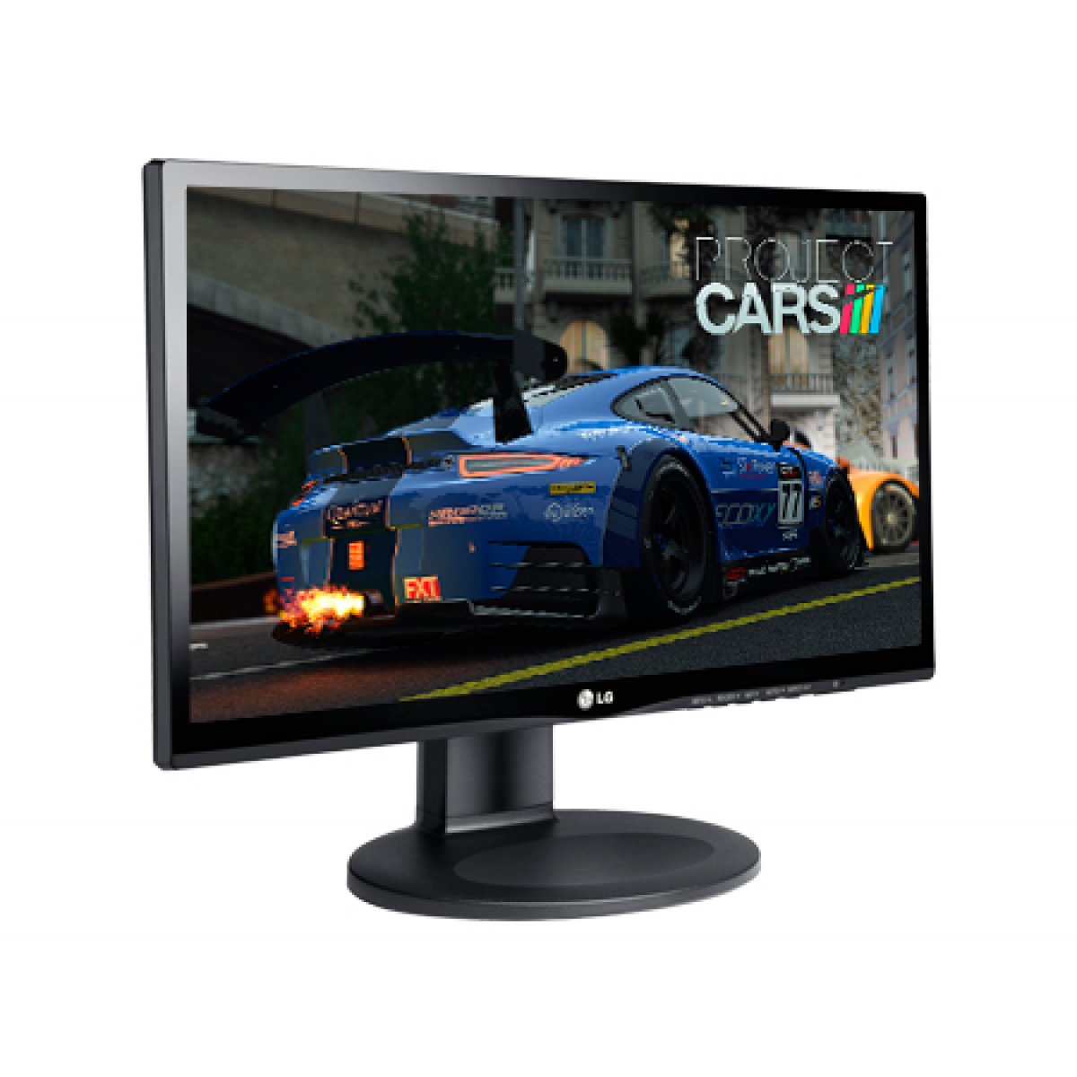 Monitor Gamer LG 21.5 Pol, Full HD, 22MP55VQ