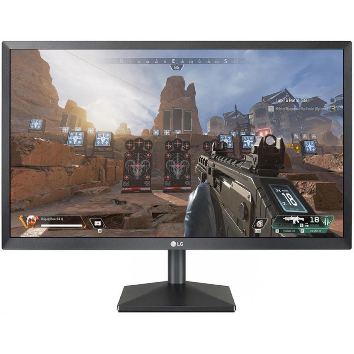 Monitor Gamer LG 23 Pol, Full HD, 75Hz, AMD FreeSync, 24MK430H-B