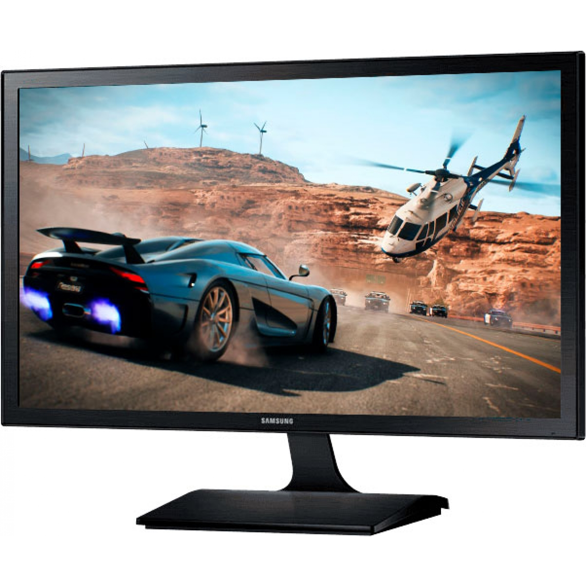 Monitor Gamer Samsung 21.5 Pol, Full HD, 60Hz, 5ms, LS22E310HYMZD