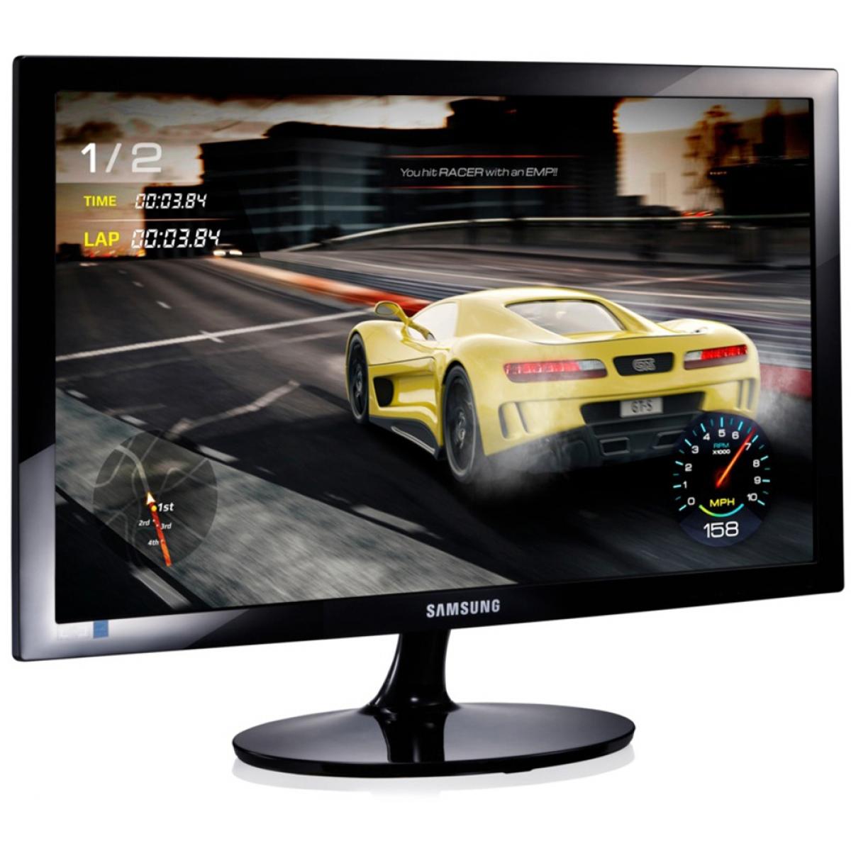 Monitor Gamer Samsung 24 Pol, Full HD, 75Hz, 1ms, LS24D332HSXZD