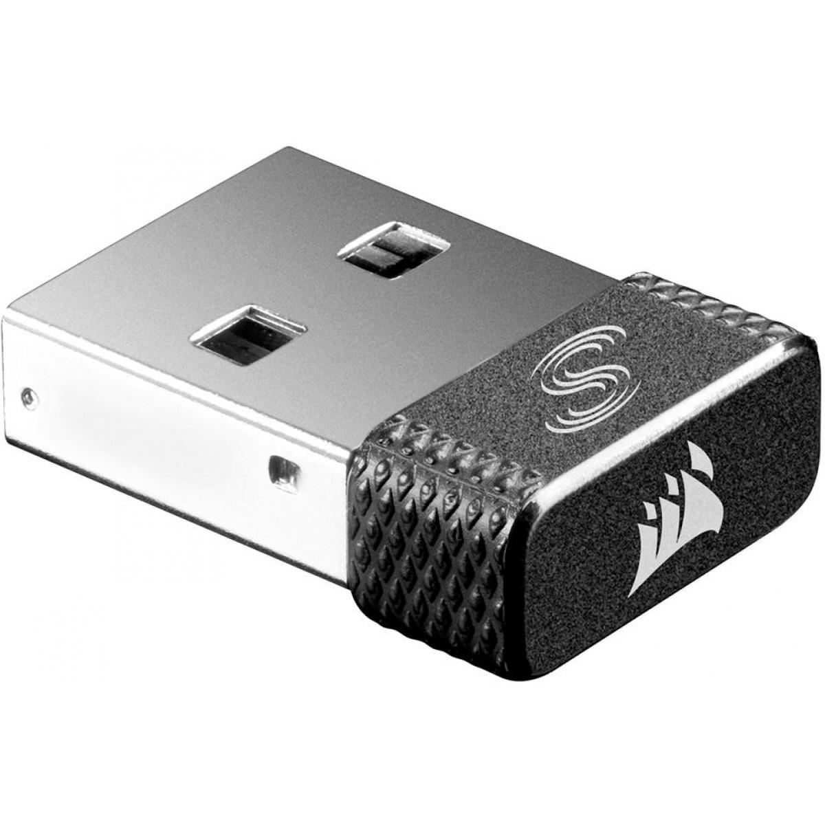 Mouse Corsair Gamer Harpoon RGB, 6 Botões 10000 DPI, Wirelees, Black, CH-9311011-NA