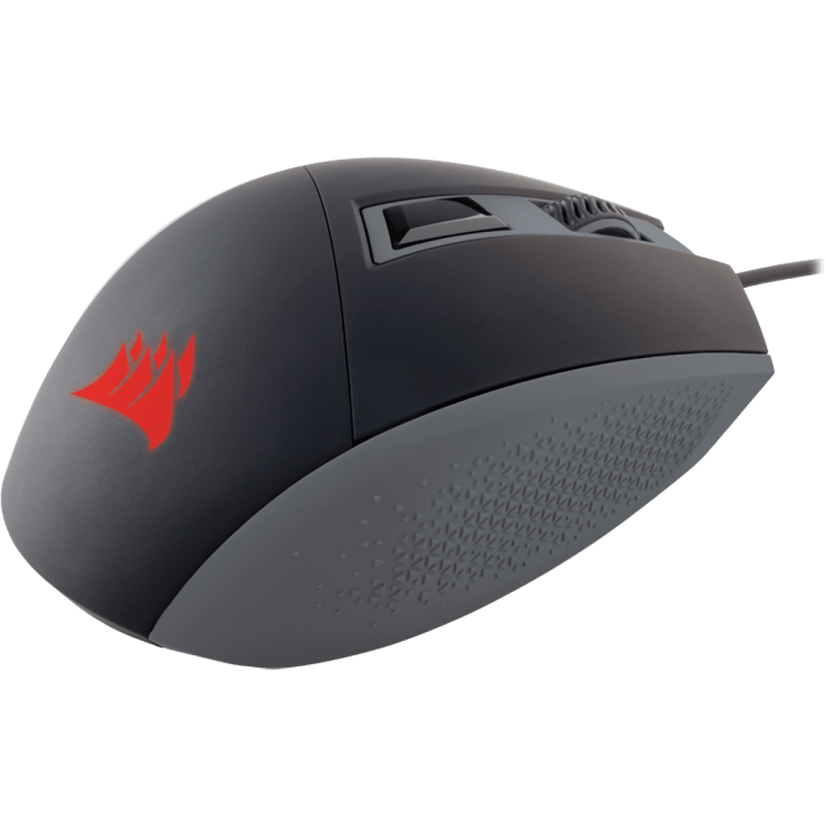 Mouse Corsair Gamer Katar Blacklit CH-9000095-NA 4 BOTÕES 8000 DPI Vermelho