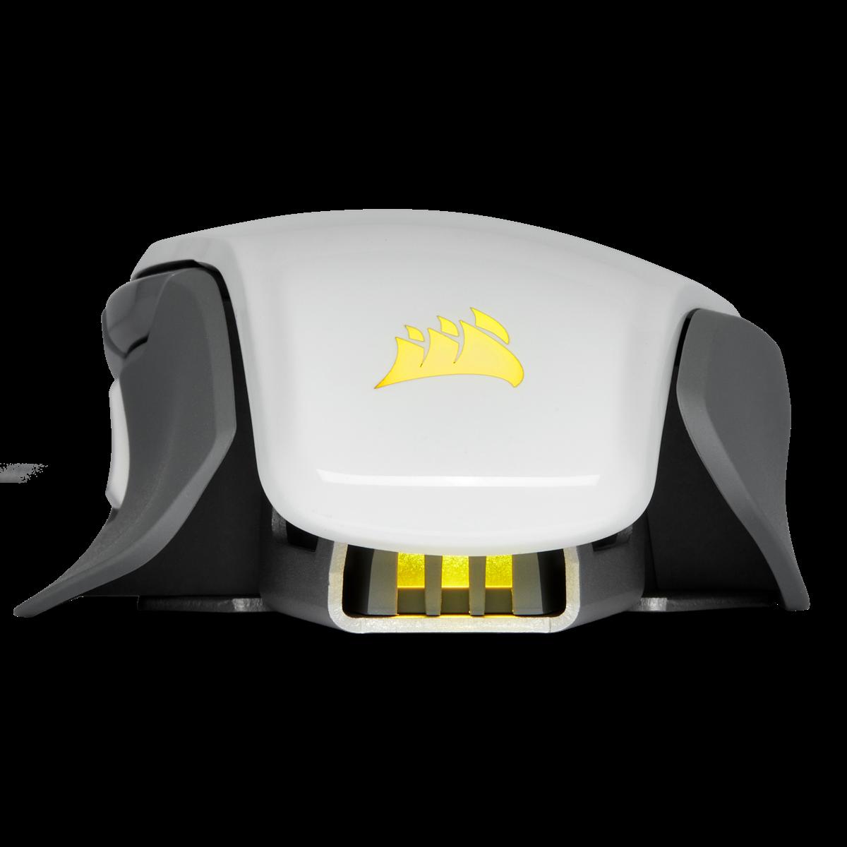 Mouse Corsair Gamer M65 RGB ELITE, 18.000DPI, 8 Botões Programáveis, White, CH-9309111-NA