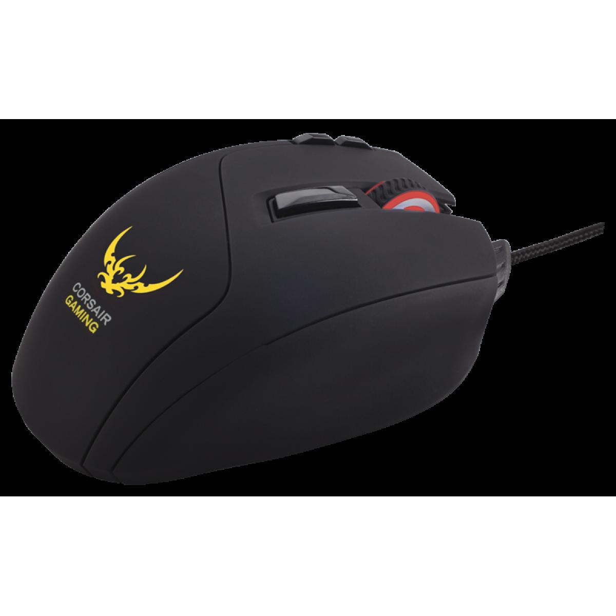 Mouse Corsair Gaming Sabre Óptico RGB CH-9000056-NA 6400DPI - USB