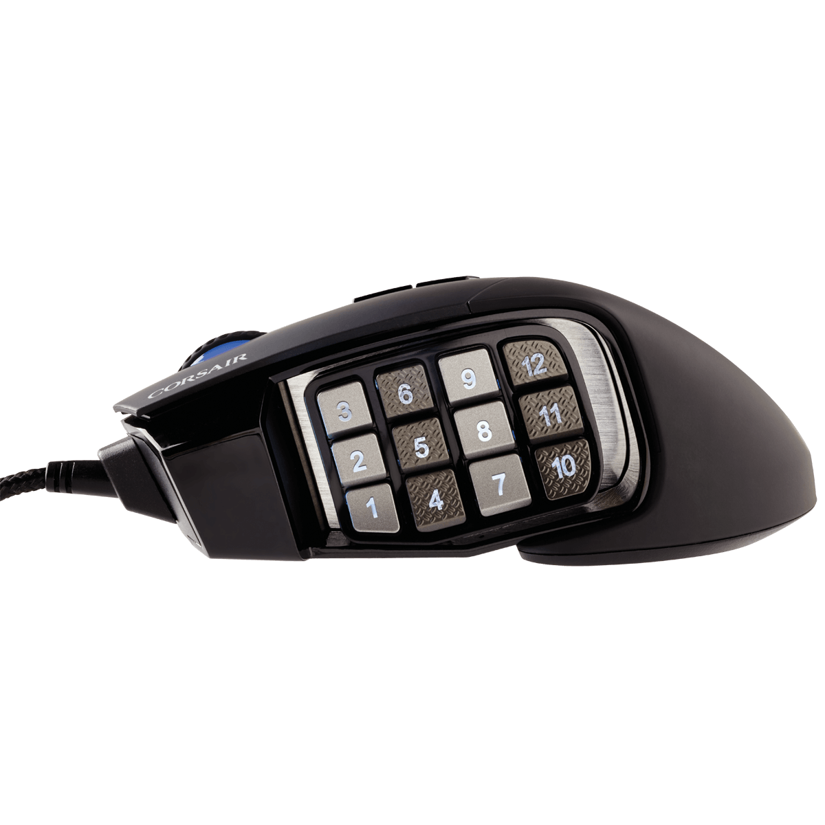 Mouse Corsair Scimitar RGB 12000 Dpi Black Ch-9000231-Na
