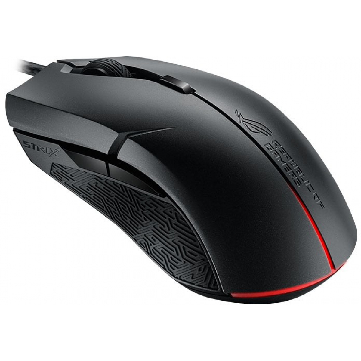 Mouse Gamer Asus Rog Strix Evolve p302 8 Botões Programáveis 7200 DPI RGB Preto