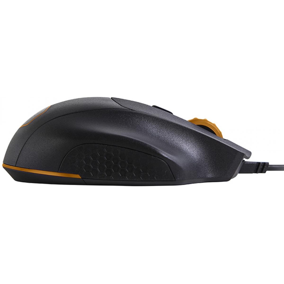 Mouse Gamer Cooler Master MasterMouse MM520 RGB SGM-2007-KLON1 12000 DPI USB Black