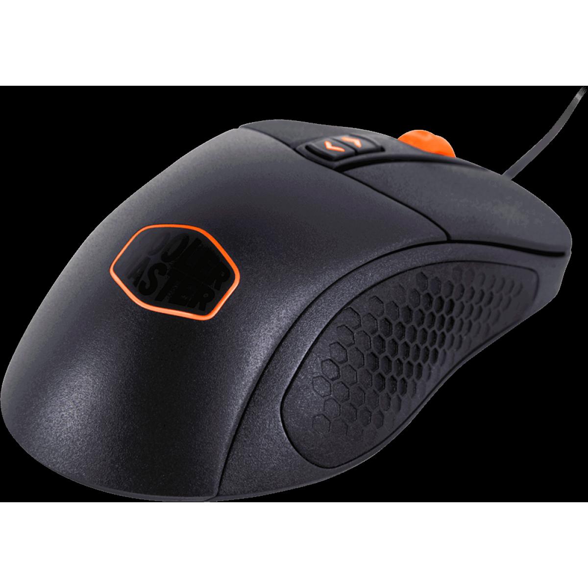 Mouse Gamer Cooler Master MM530 RGB, 12000DPI, 7 Botões Programáveis, SGM-4007-KLLW1