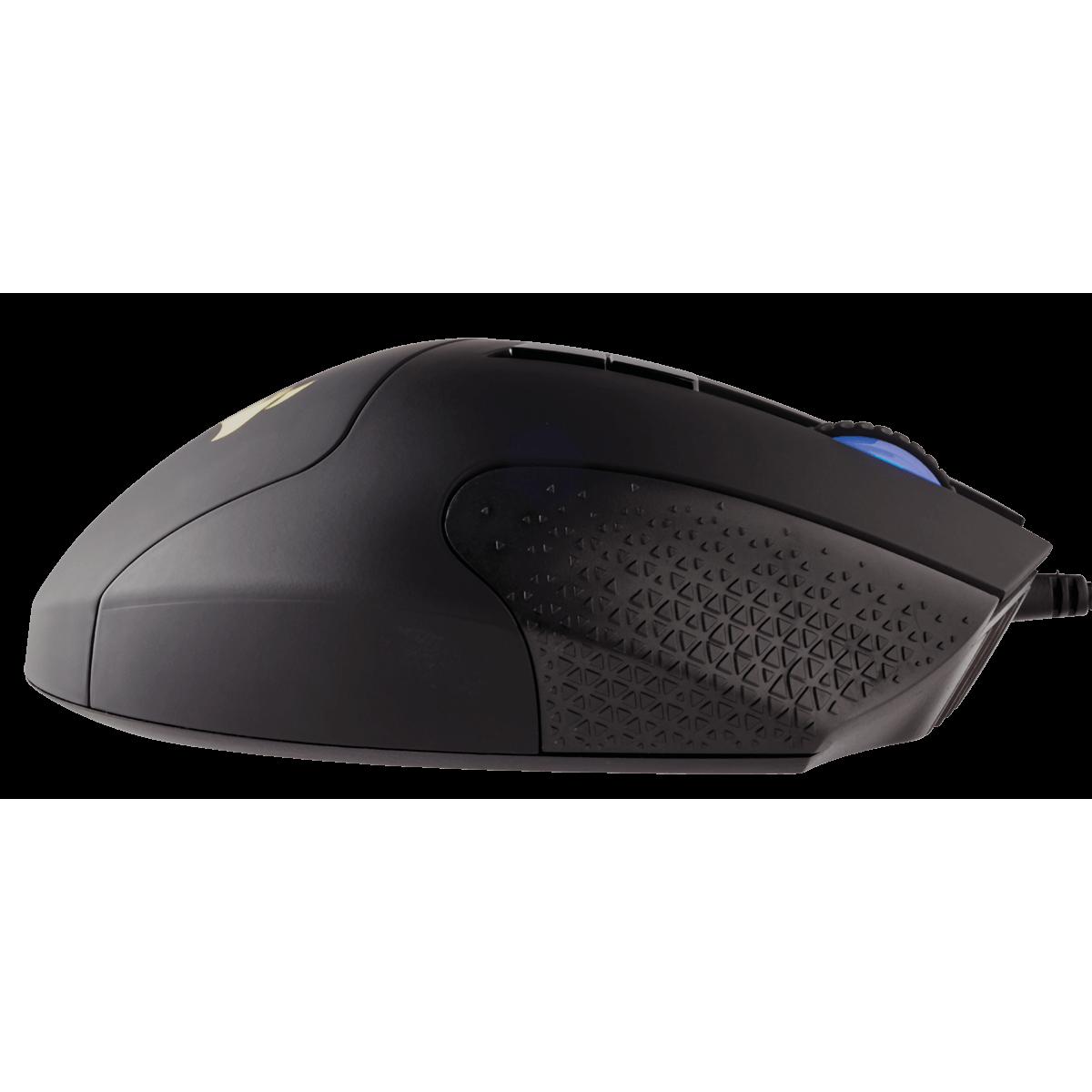 Mouse Gamer Corsair Scimitar RGB ELITE, 18.000 DPI, 17 Botões Programáveis, Black, CH-9304211-NA