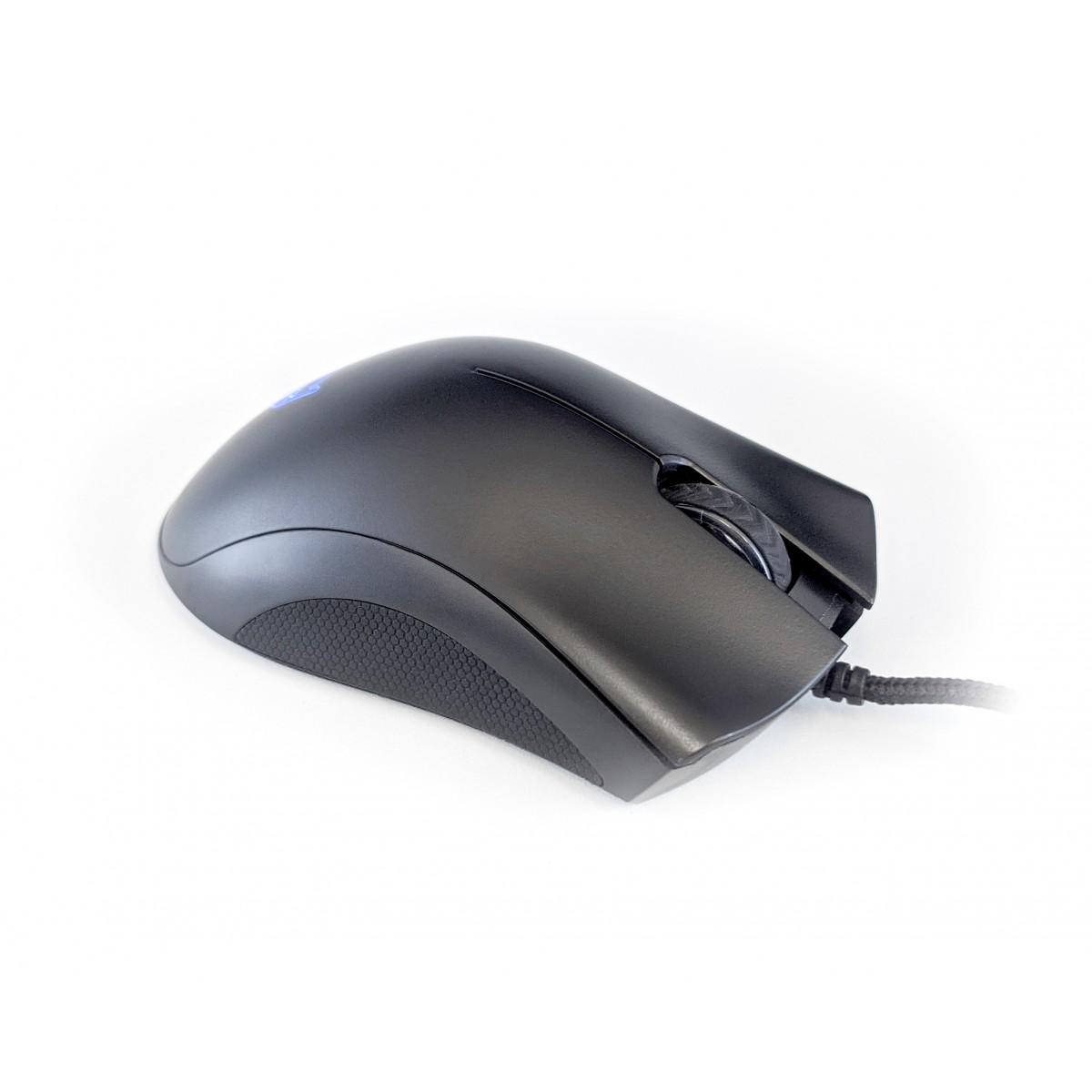 Mouse Gamer Dazz, Axon, 3200DPI, USB, 6 Botões, 62000032