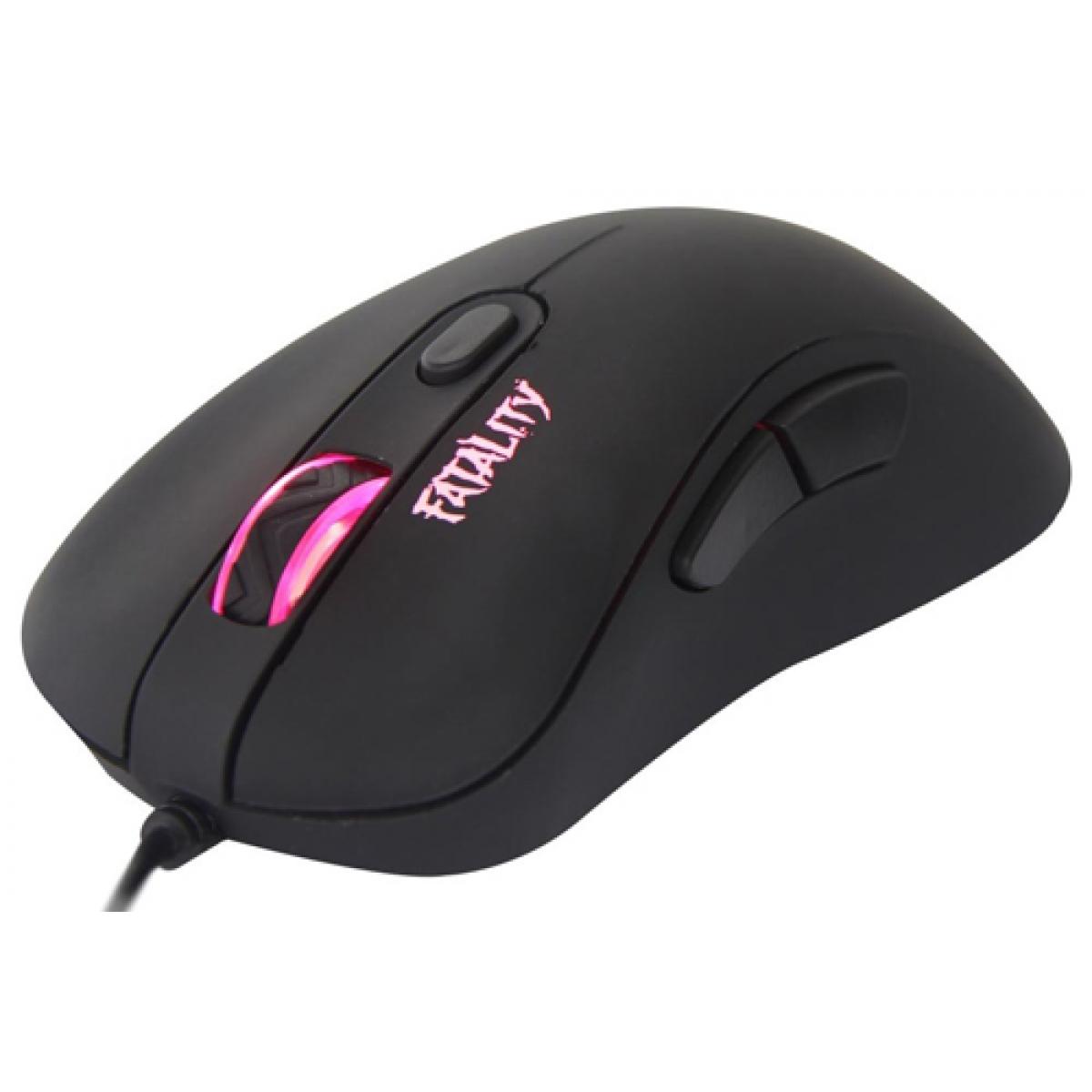 Mouse Gamer Dazz Fatality, 3500 DPI, 4 Botões, Black