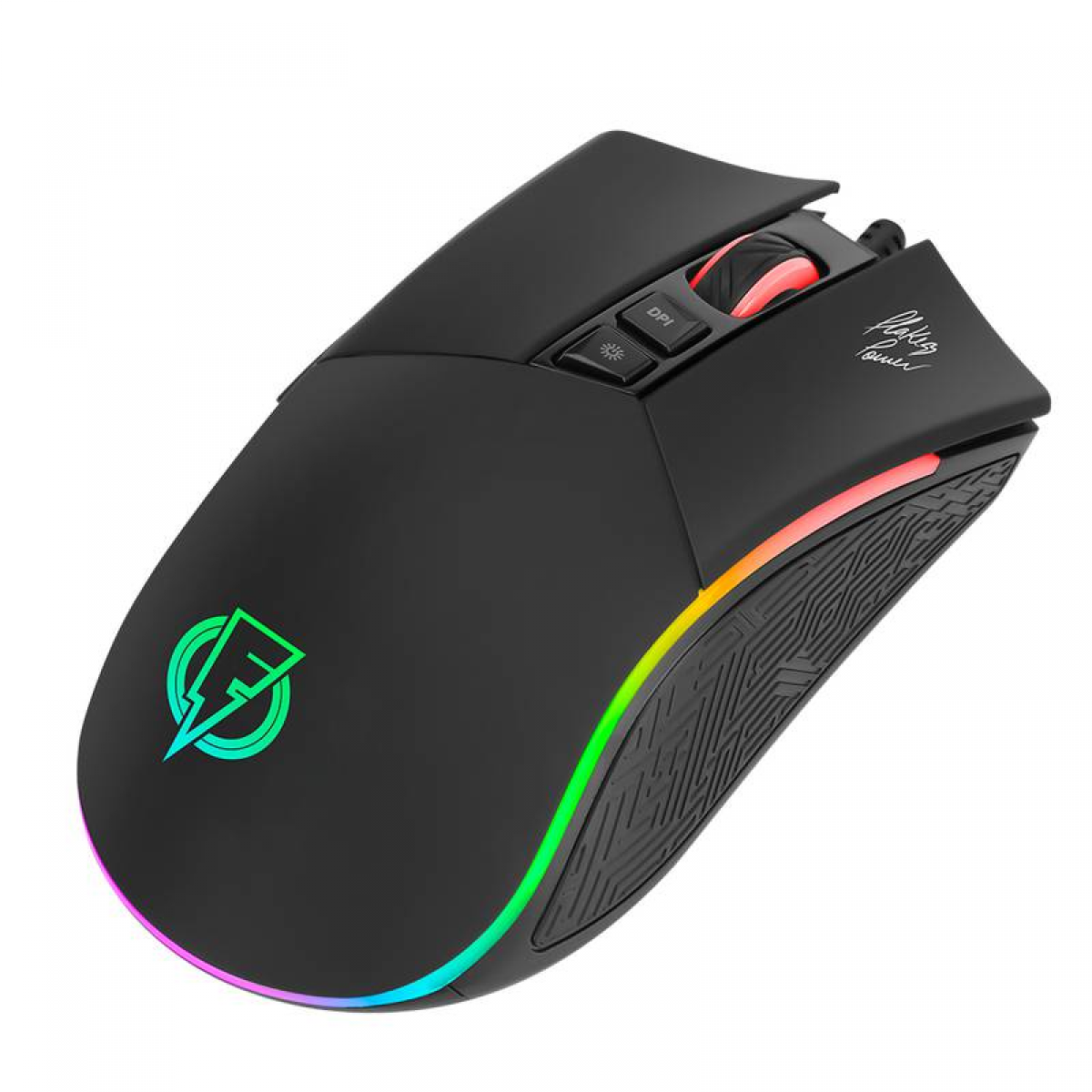 Mouse Gamer ELG Epic Flakes Power, 7 Botões, 4800 DPI, FLKM001