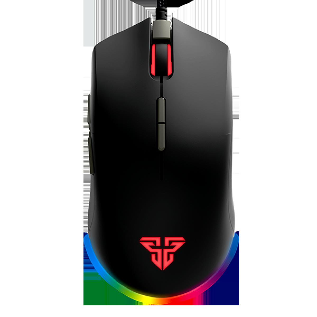 Mouse Gamer Fantech Blake X17, 10.000 DPI, 8 Botões, RGB, Black