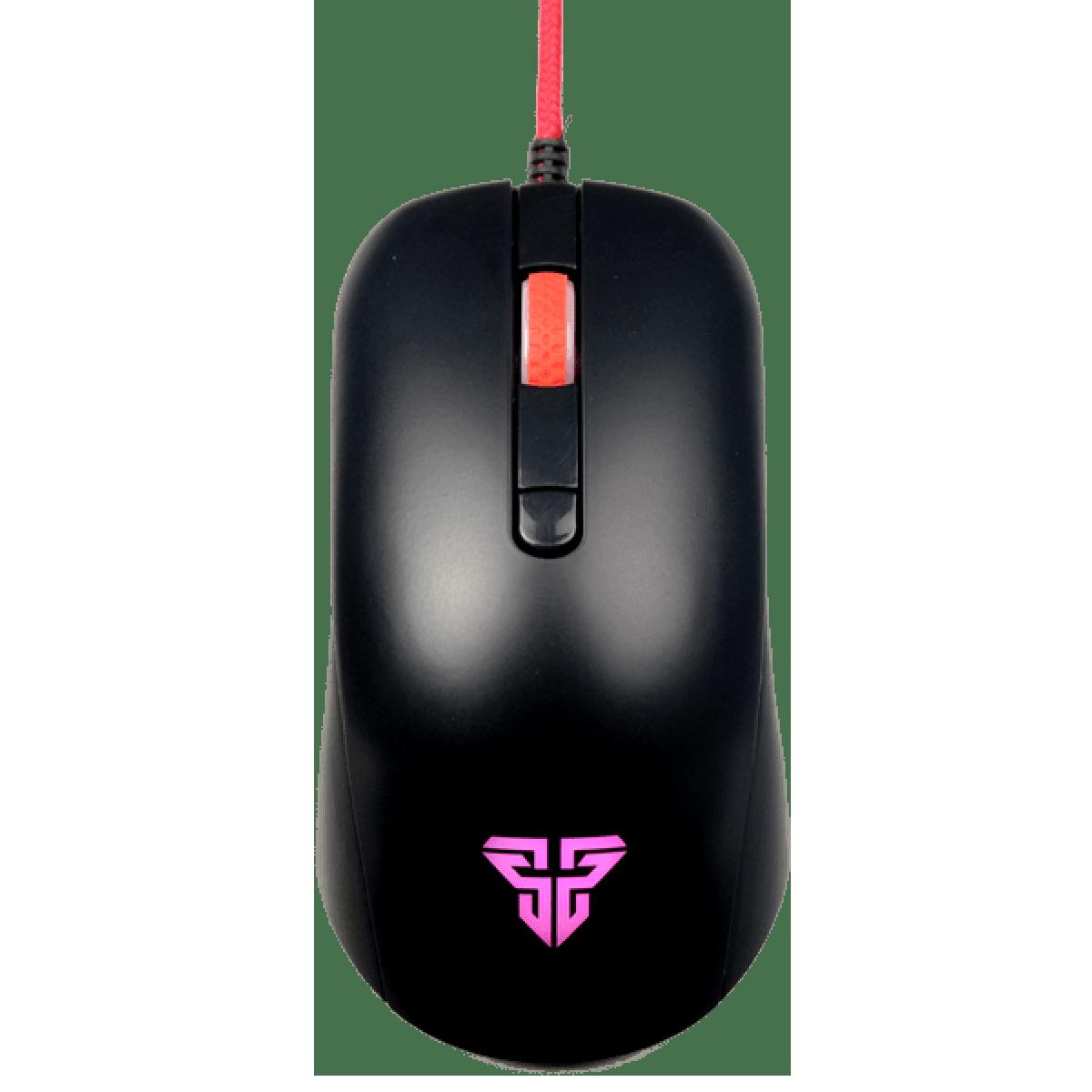 Mouse Gamer Fantech Rhasta G10, 2.400 DPI, 4 Botões, RGB, Black