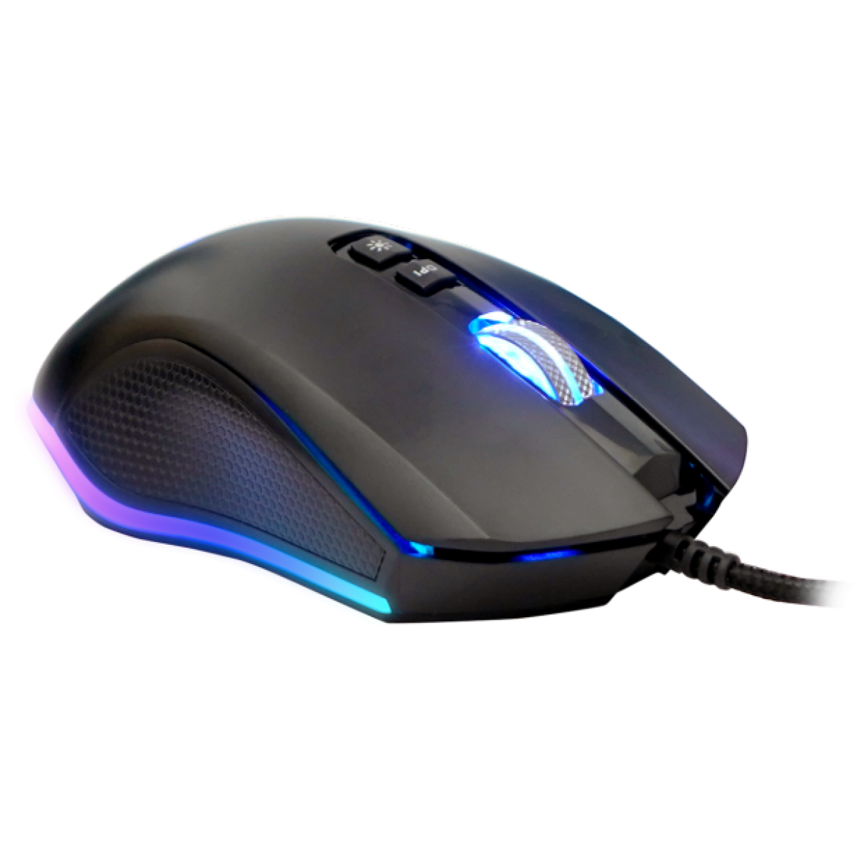 Mouse Gamer Fantech Zeus X5s, 4.800 DPI, 7 Botões, RGB, Black
