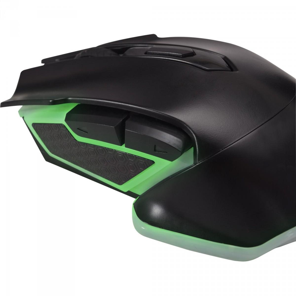 Mouse Gamer Fortrek Pro M5 RGB, 4800 DPI, 6 Botões, Black, 64385