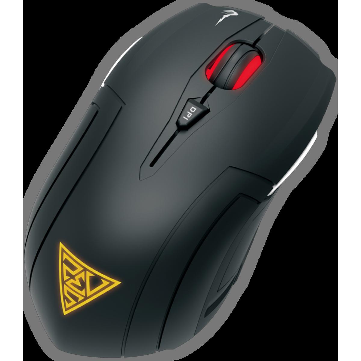 Mouse Gamer Gamdias Demeter E1 6 BOTÕES 3200 DPI Óptico + Mouse Pad NYX E1