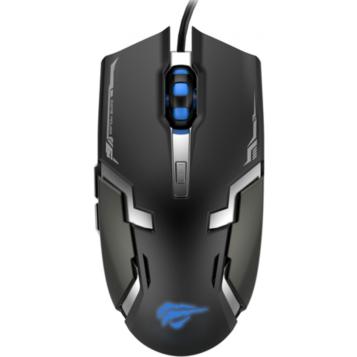 Mouse Gamer Havit Magic Eagle Optical 6 Botões 3200 DPI Black