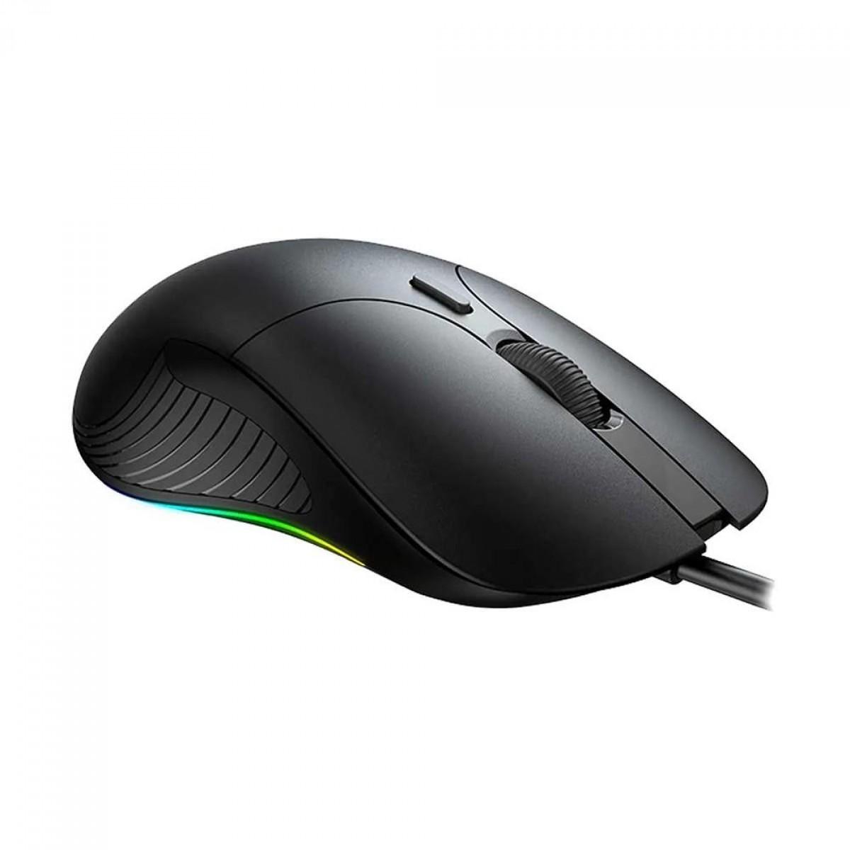 Mouse Gamer Havit MS1020, 4200DPI, RGB, 7 Botões, HV-MS1020
