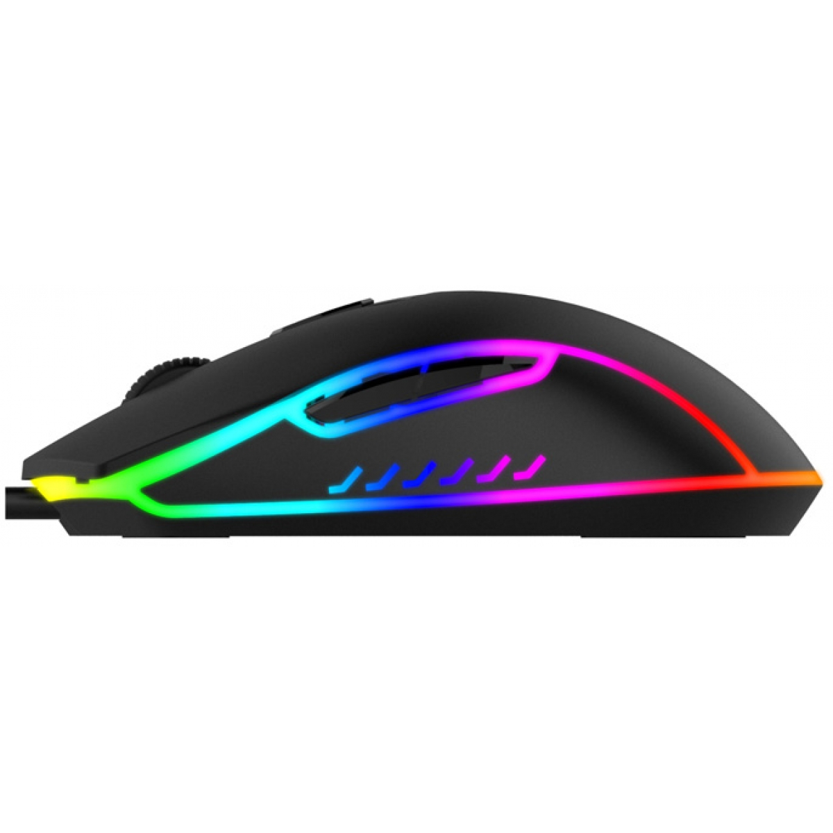 Mouse Gamer Havit MS792 RGB 6 Botões 3200 DPI Black
