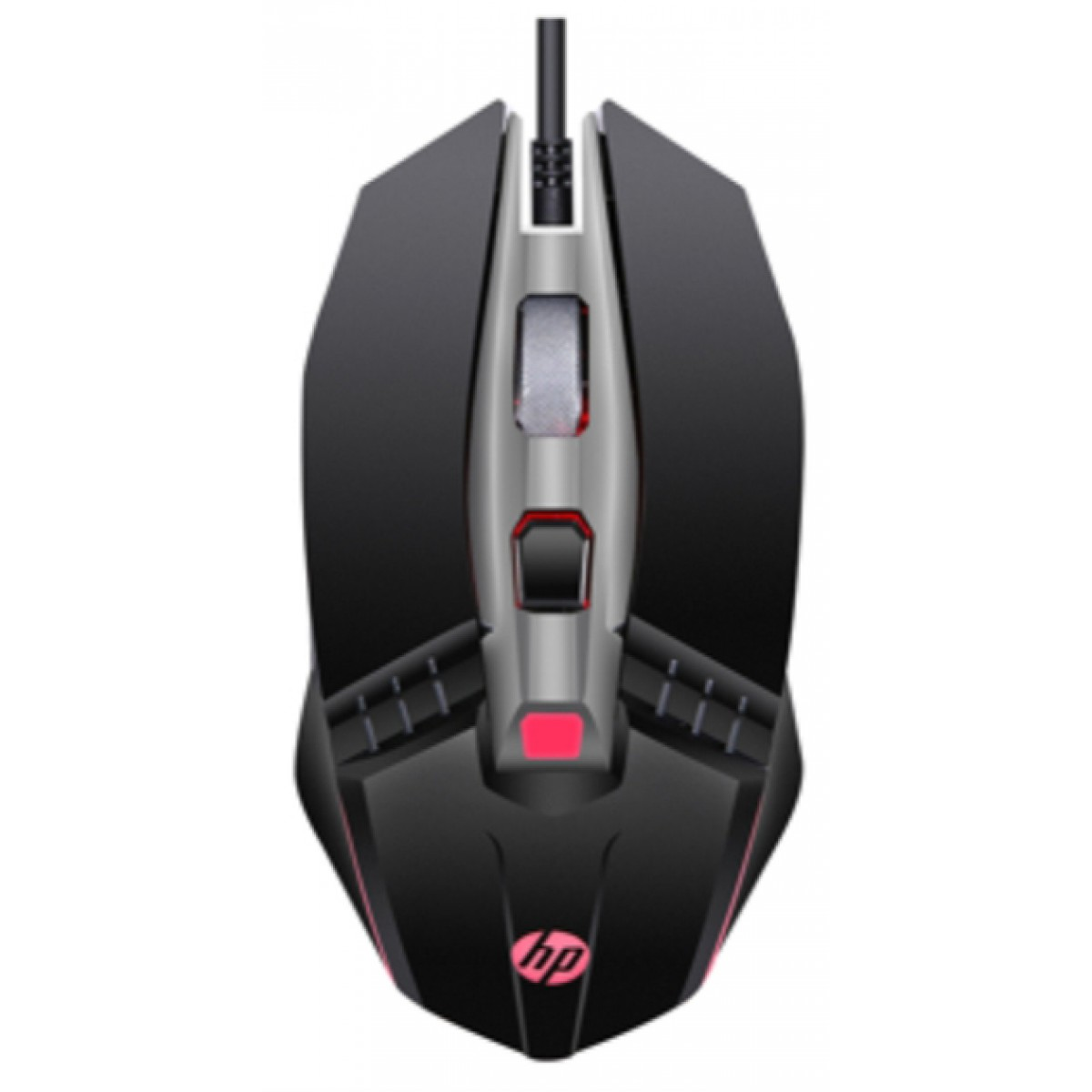 Mouse Gamer HP M270, 2400 DPI, 5 Botões, LED, Black