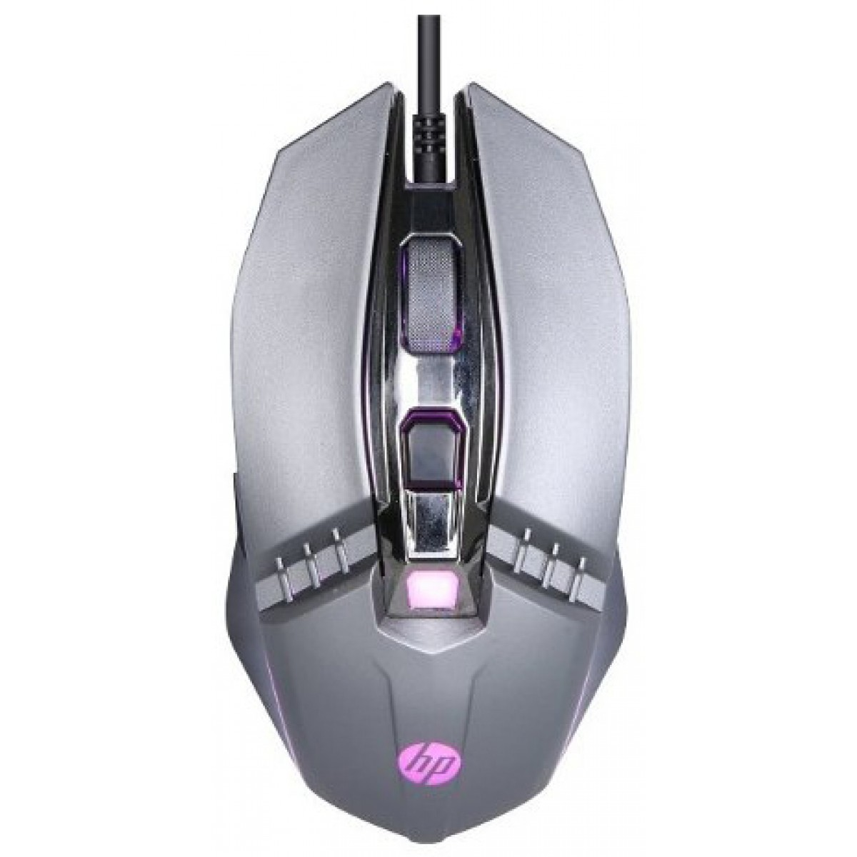 Mouse Gamer HP M270, 2400 DPI, 5 Botões, LED, Gray
