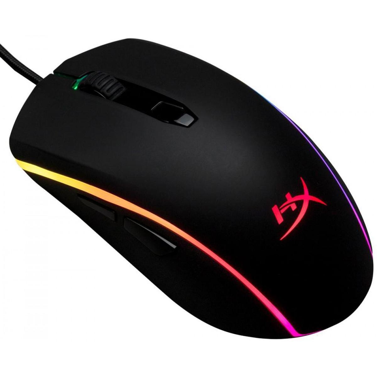 Mouse Gamer HyperX Pulsefire Surge RGB, 16000 DPI, HX-MC002B