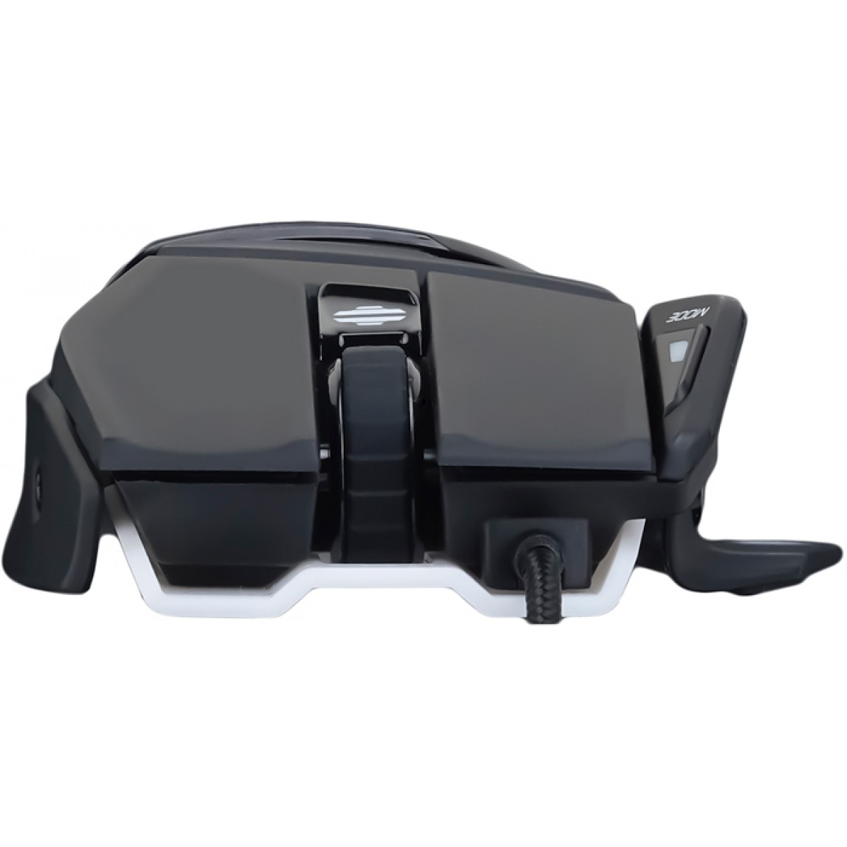 Mouse Gamer Mad Catz RAT 4+, 7200 DPI, 9 Botões, Black, MR03MCAMBL00