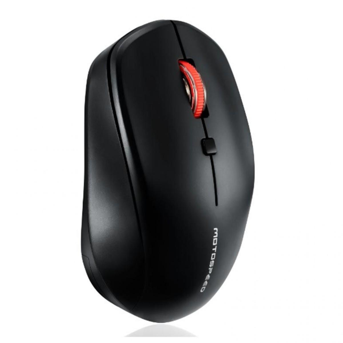 Mouse Wireless Motospeed G40, 1600 DPI, Black, FMSMS0066PTO
