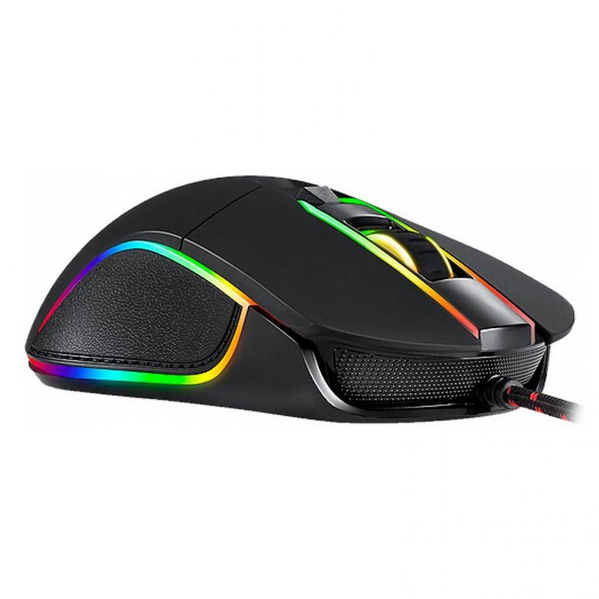 Mouse Gamer Motospeed V30, 3500 DPI, RGB, Black, FMSMS0003PTO