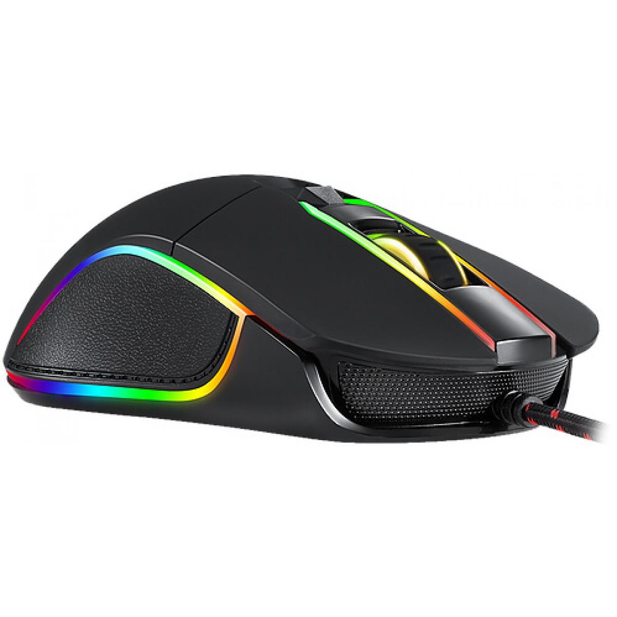 Mouse Gamer Motospeed V30 BMSMS0003PTO 3500 DPI RGB Backlight Black