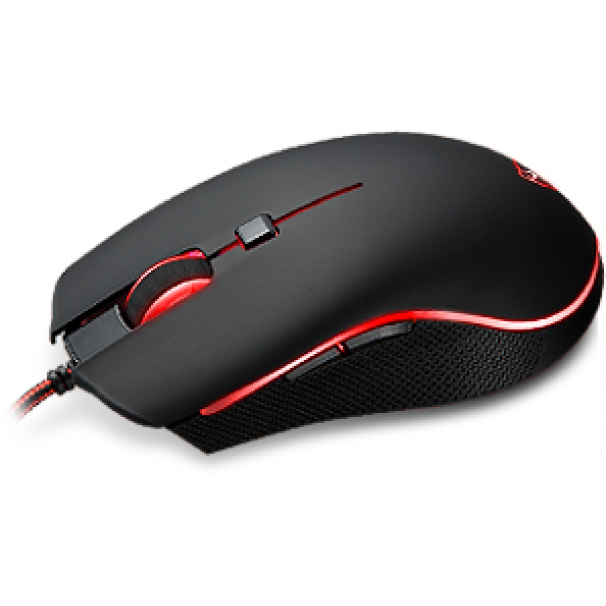 Mouse Gamer Motospeed V40, FMSMS0004PTO, 4000 DPI, RGB, Black