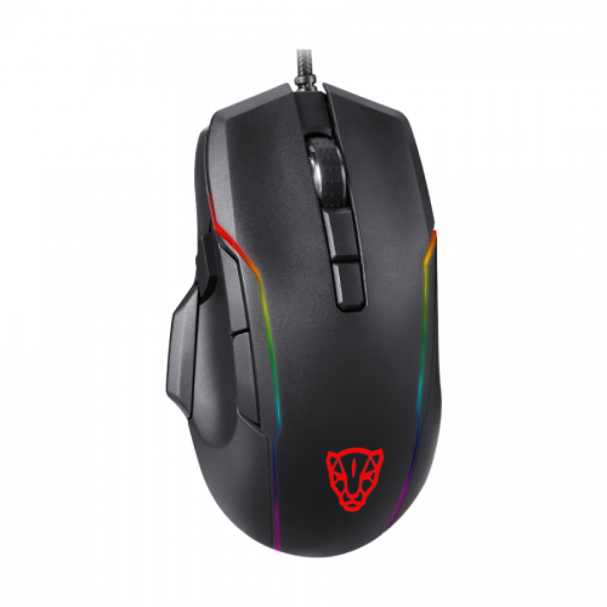 Mouse Gamer Motospeed V90 5000 DPI, RGB Backlight, Black, FMSMS0100PTO