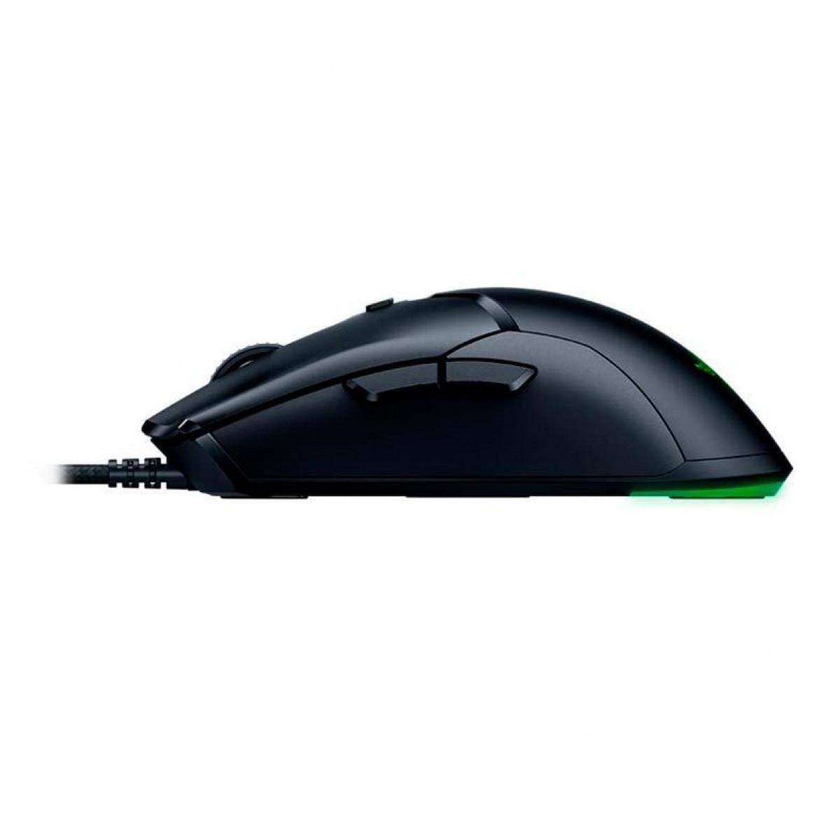 Mouse Gamer Razer Viper Mini, 6 Botões Programáveis, 8.500 DPI, RGB, RZ01-03250100-R3U1