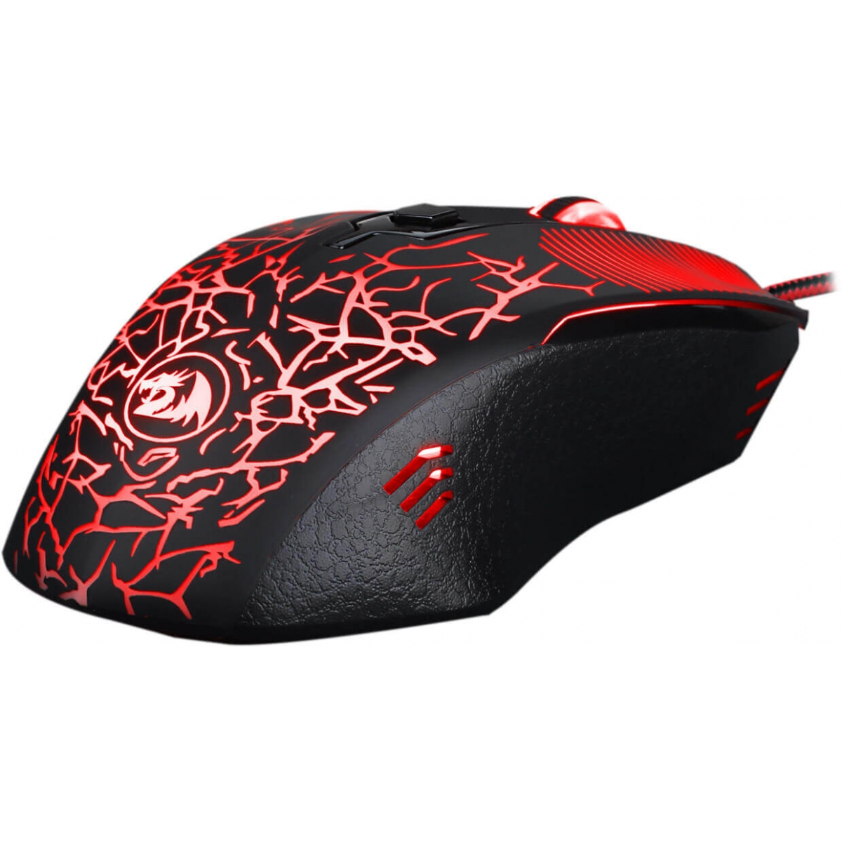Mouse Gamer Redragon Inquisitor Basic M608 RGB, 3200 DPI, 5 Botões Programáveis, Black