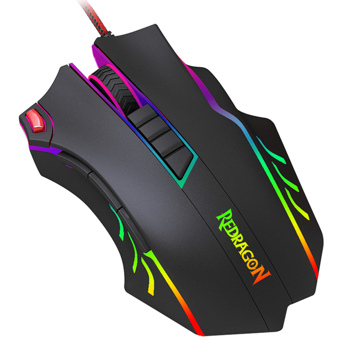 Mouse Gamer Redragon Titanoboa 2 Chroma, 24000 DPI, 10 Botões, Black, M802-RGB