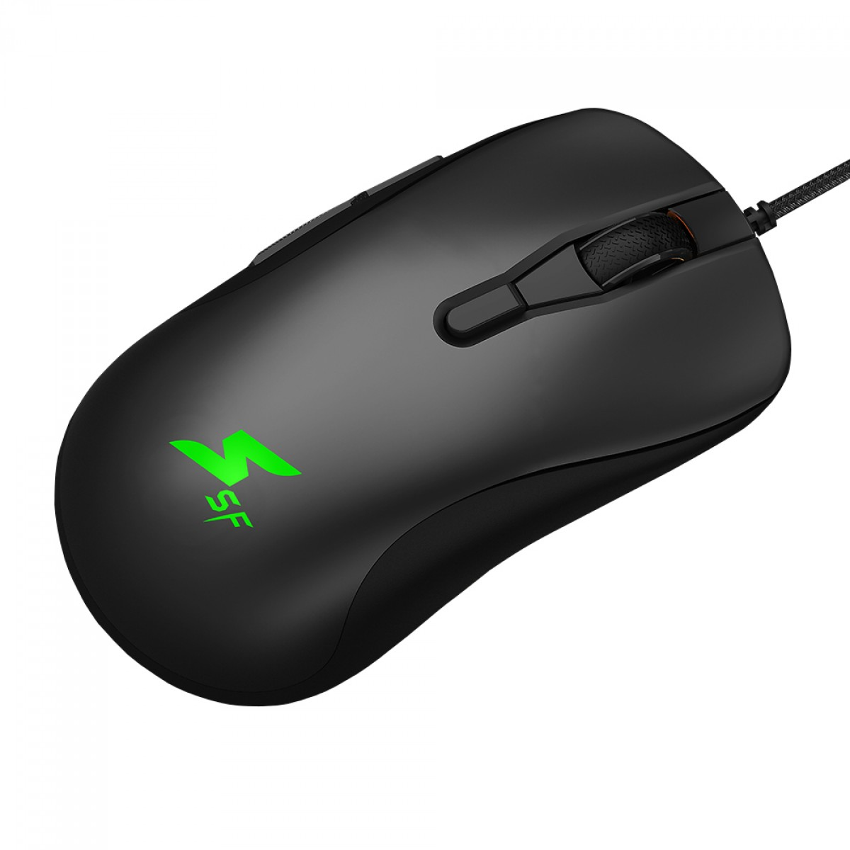 Mouse Gamer SuperFrame FOFLIS, RGB, 7 Botões, Black