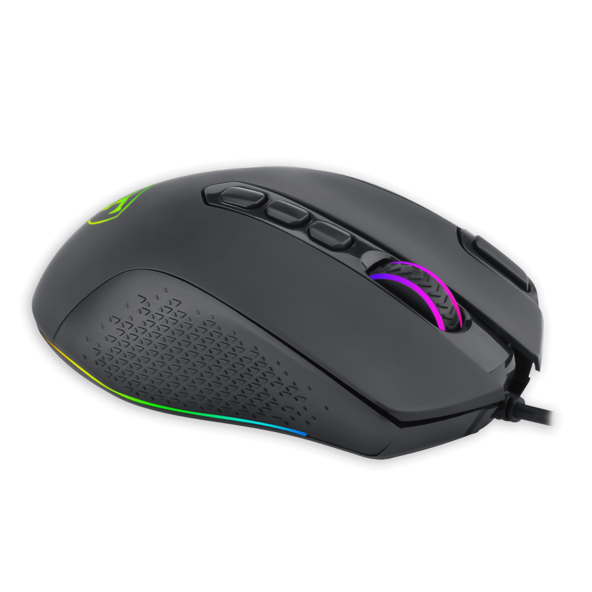 Mouse Gamer T-Dagger Bettle RGB, 8000 DPI, 10 Botões, Black, T-TGM305