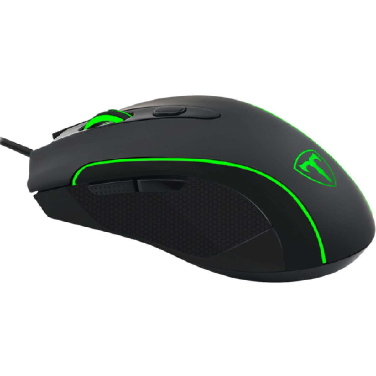 Mouse Gamer T-Dagger Private RGB 3200 DPI, 6 Botões, Black