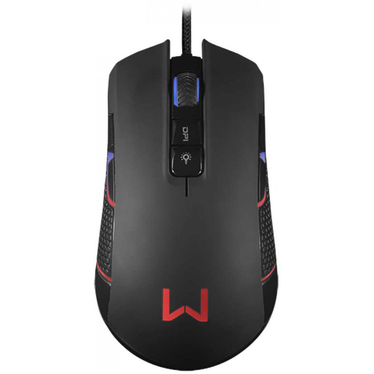 Mouse Gamer Warrior Perseus, RGB, 4000 DPI, MO275 - Open Box