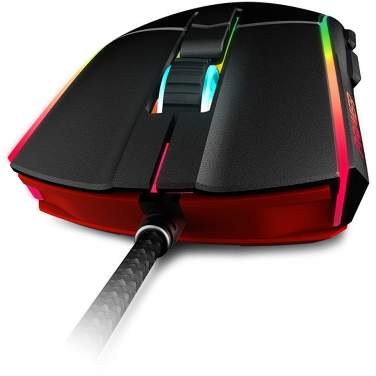 Mouse Gamer XPG, Primer, 12000DPI, RGB, 7 Botões, Black, PRIMER-BKCWW