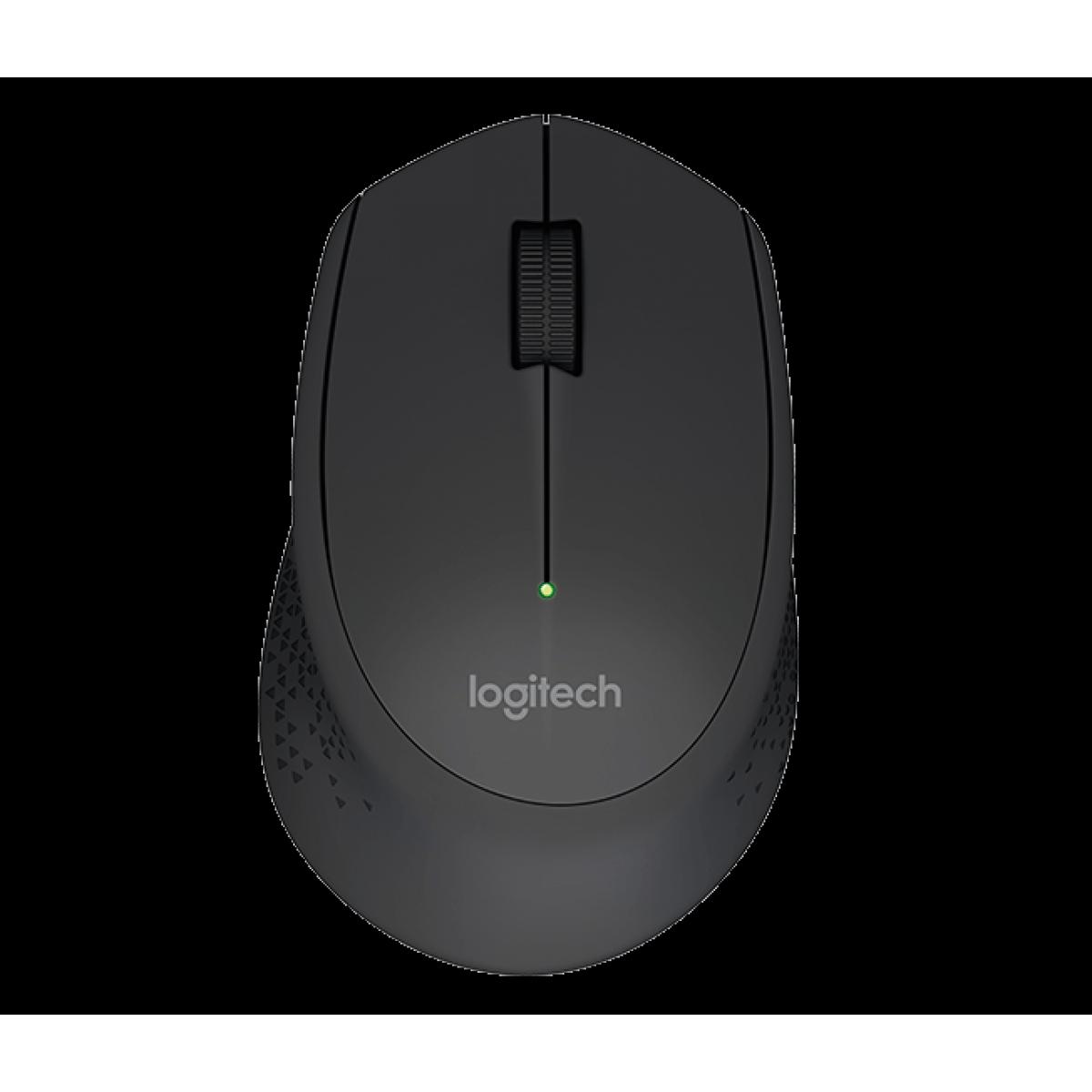 Mouse Logitech M280 1000 DPI, Wireless, Black, 910-004284